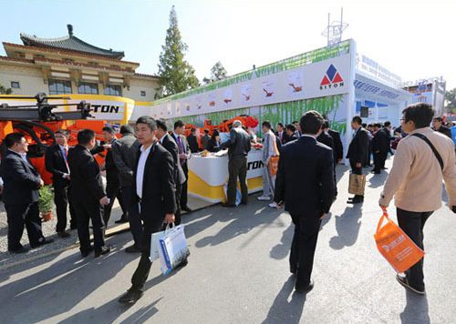 Выставочный стенд Siton Machinery на «2013 Beijing Mining Machine Exhibition» 2013-10-29